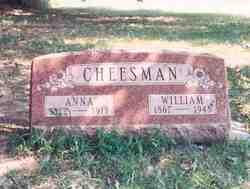 Anna <i>Blosser</i> Cheesman