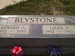 Elizabeth Pamelia Lizzie <i>Phillips</i> Blystone