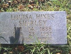 Dorothy Louisia <i>Hines</i> Shirley
