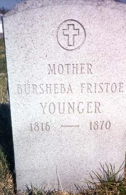 Bursheba <i>Fristoe</i> Younger