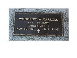 Woodrow Wilson Carroll