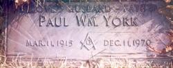 Paul William York