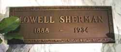 Lowell Sherman