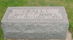 Mary Lee <i>Hayden</i> Nall