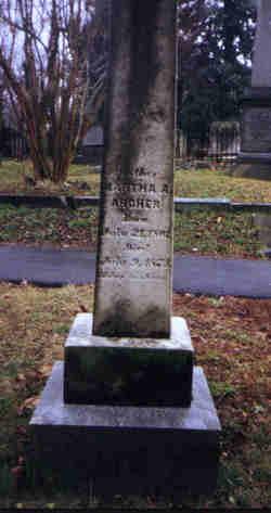 Martha A. <i>Hatcher</i> Archer