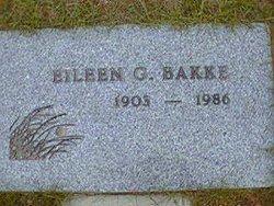 Eileen Gertrude <i>Edwardson</i> Bakke