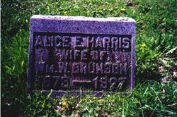 Alice E. <i>Harris</i> Brunson