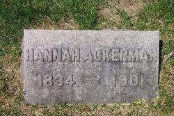 Hannah <i>Christie</i> Ackerman