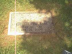 Effie E. Ingram