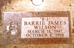 Barrie James B.J. Wilson