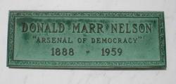 Donald Marr Nelson