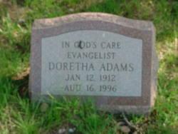 Doretha <i>Williams</i> Adams