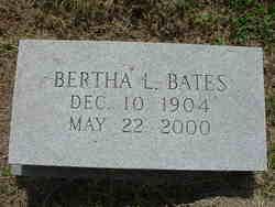 Bertha <i>Lovingood</i> Bates