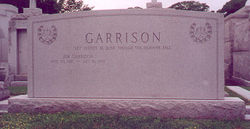 Earling Carothers Jim Garrison