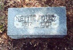 Nettie <i>Leach</i> Foutz