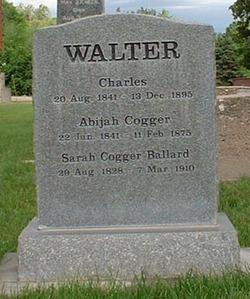 Sarah Ann Cogger <i>Ballard</i> Walter