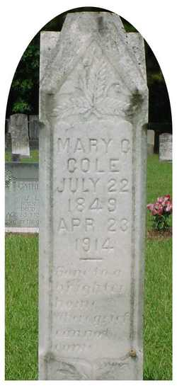 Mary G Cole