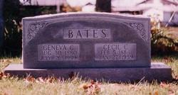 Geneva <i>Cook</i> Bates
