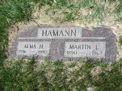 Gertrude Alma <i>Harms</i> Hamann