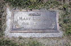 Mary Leona <i>Weir</i> Cooke