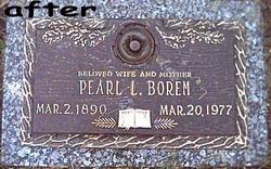 Pearl Lila <i>Ervin</i> Borem
