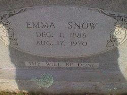 Sarah Emma Snow