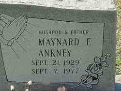 Maynard F Ankney