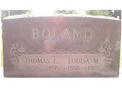 Louisa M. <i>Biri</i> Boland