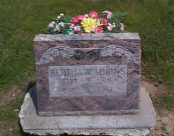 Bertha Victoria <i>Allen</i> Adkins