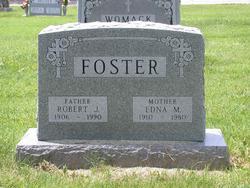 Edna M <i>York</i> Foster
