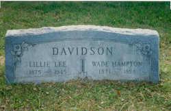 Lillie Lee <i>Moore</i> Davidson