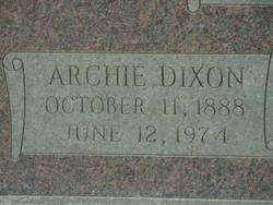 Archie Dixon Bridger