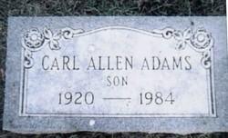 Carl Allan Adams