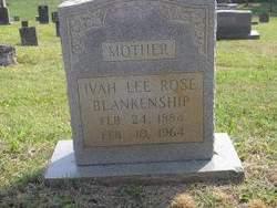Iva Lee <i>Rose</i> Blankenship