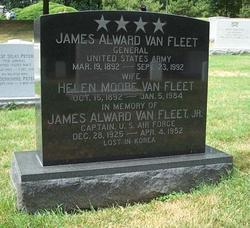 James Alward Van Fleet, Sr