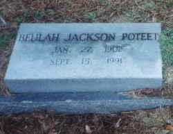 Beulah Hazel <i>Jackson</i> Poteet