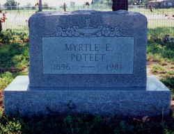 Myrtle Elizabeth <i>McKlung</i> Poteet