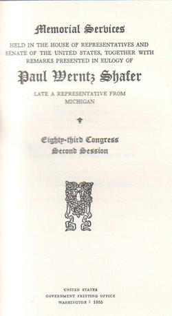 Paul Wertz Shafer