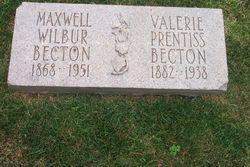 Valerie <i>Prentiss</i> Becton