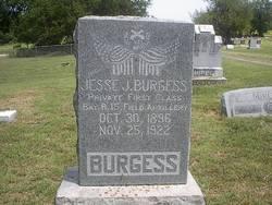 Pvt Jessie J. Burgess