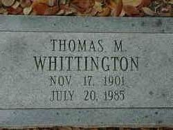 Thomas Monroe Whittington