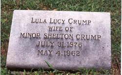 Lula Juanita <i>Lucy</i> Crump