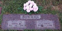 A.J. Packy Bowman