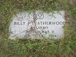 Billy F. Leatherwood