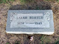 Sarah Jane <i>Tullis</i> Burtch