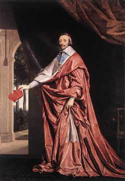 Cardinal Armand-Jean Du Plessis Richelieu