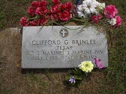 Sgt Clifford G. Brinlee
