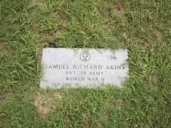 Pvt Samuel Richard Akins