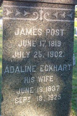 Adaline <i>Eckhart</i> Post