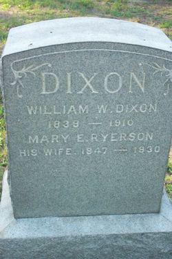 Mary E. <i>Ryerson</i> Dixon